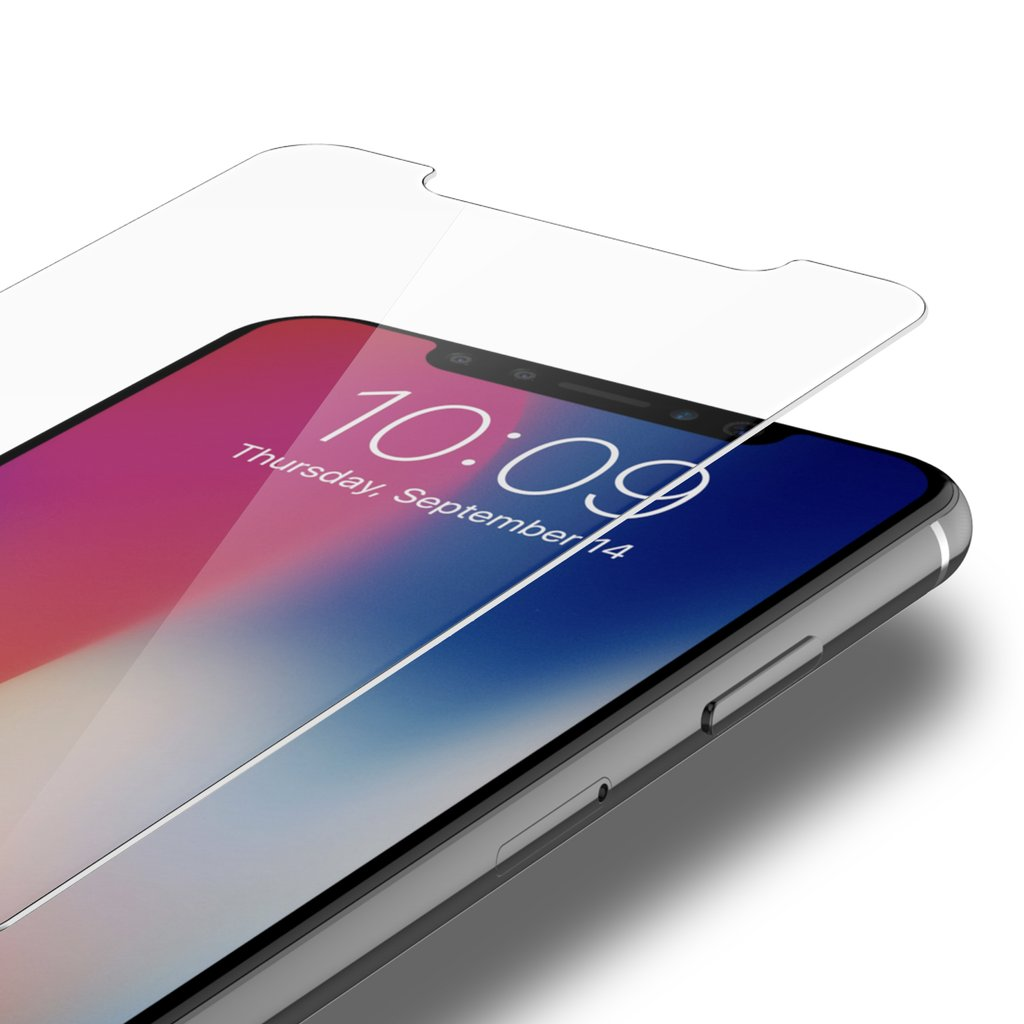 glass iphone screen protector 2 pack iphone x glass screen protector clear screen 2310
