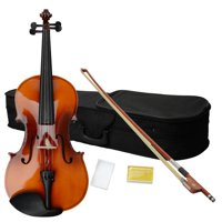 "Zimtown 16"" Acoustic Viola + Case + Bow + Rosin Brown"