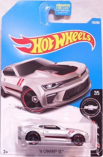 2017 Camaro Fifty '16 Camaro SS 155 365, Silver By Hot Wheels by