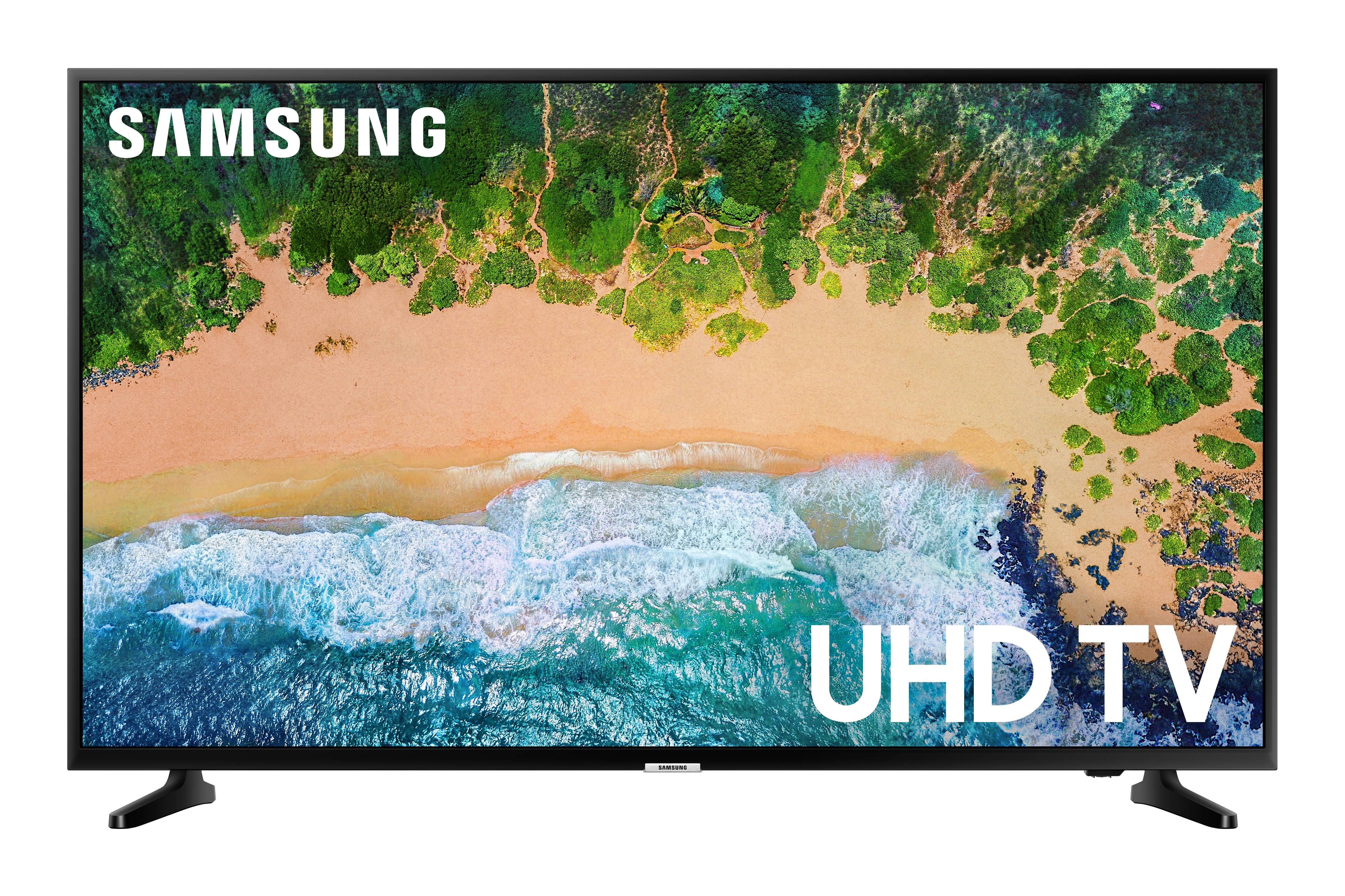 """SAMSUNG 40"""" Class 4K UHD 2160p LED Smart TV with HDR UN40NU6070"""