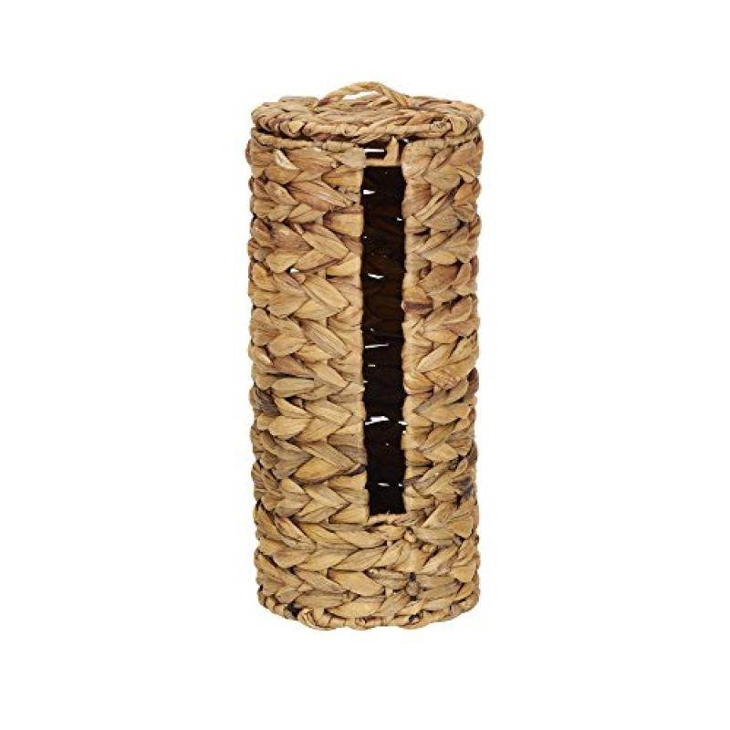 Household Essentials Banana Leaf Tissue Roll Holder, Natural