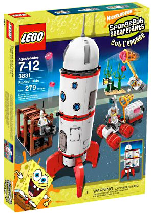 Spongebob Squarepants Rocket Ride Set Lego 3831 by Lego