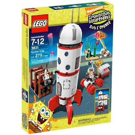Spongebob Squarepants Rocket Ride Set LEGO 3831 (Lego Spongebob Halloween 5)
