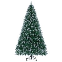 Yaheetech 7.5 Ft Frosted Artificial Christmas Tree Deals