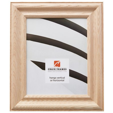 Craig Frames Wiltshire N, Unfinished Raw Wood Picture Frame, 8 x 10 Inch - Unfinished Wood Frames