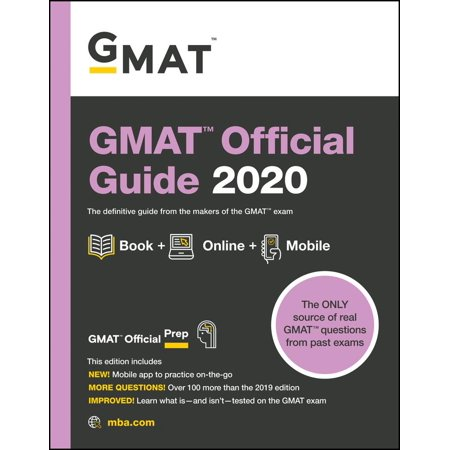 GMAT Official Guide 2020 : Book + Online Question (Best Gmat Prep Classes)