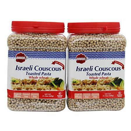 Toasted Israeli Couscous (Baron's Kosher Whole Wheat Israeli Couscous Toasted Pasta 21.16-ounce Jar (Pa... )