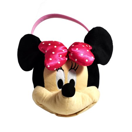 - Disney Minnie Mouse Medium Plush Easter Basket