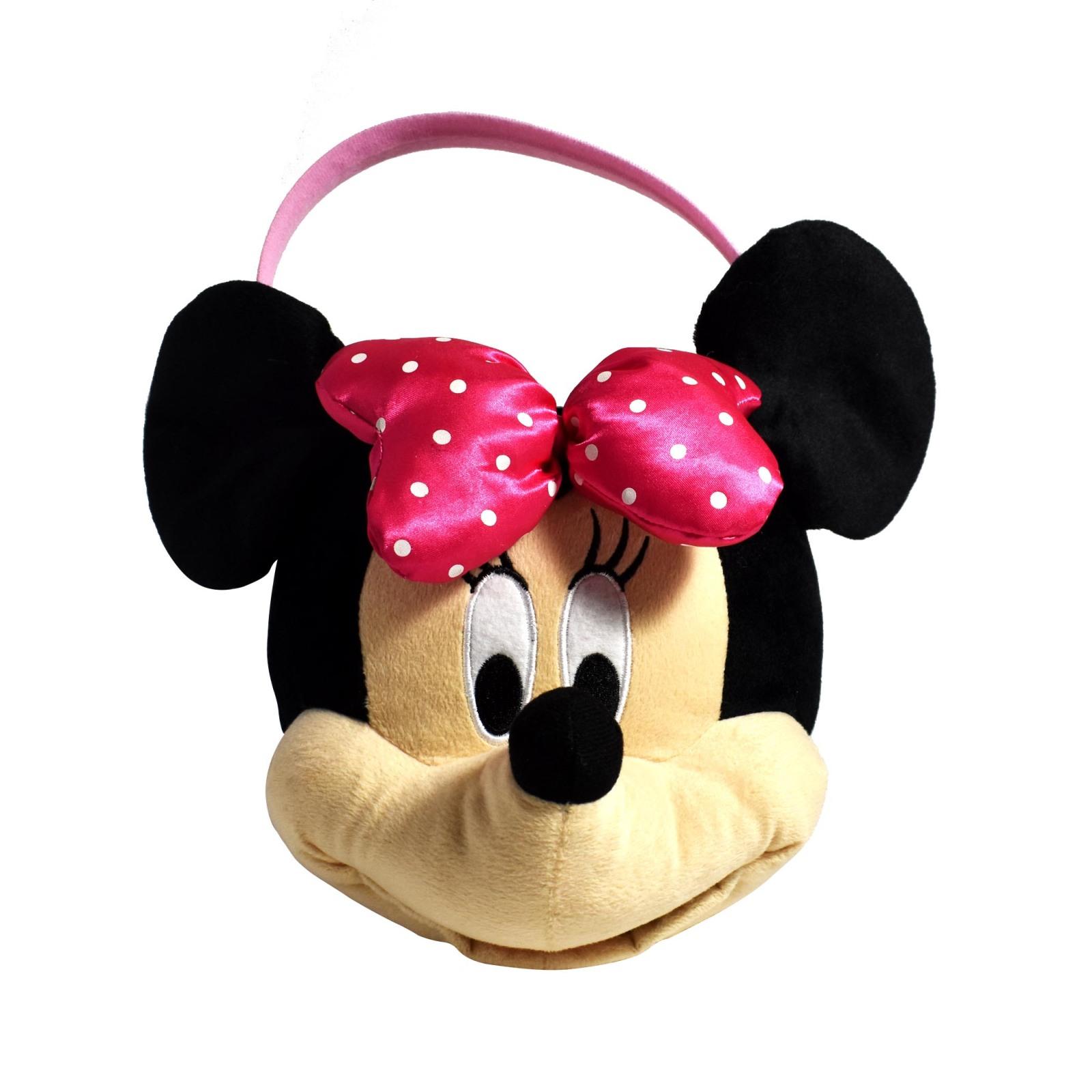 Disney Minnie Mouse Medium Plush Easter Basket