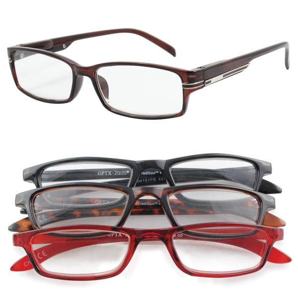 unisex reading glasses set of 4 neutral 5 0