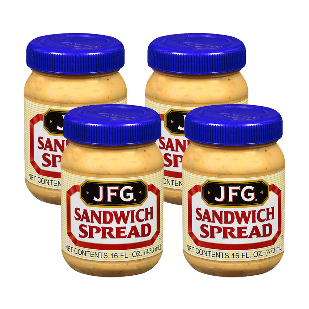 Jfg Sandwich Spread, 16 Fl Oz (4 Pack)