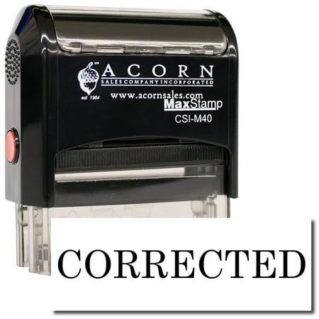 large self inking corrected stamp walmart com