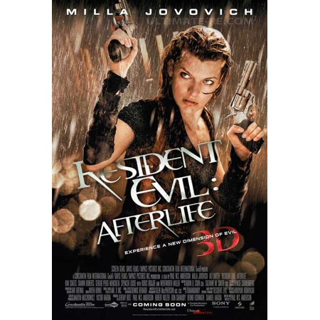 Resident Evil: Afterlife (2010) 11x17 Movie Poster
