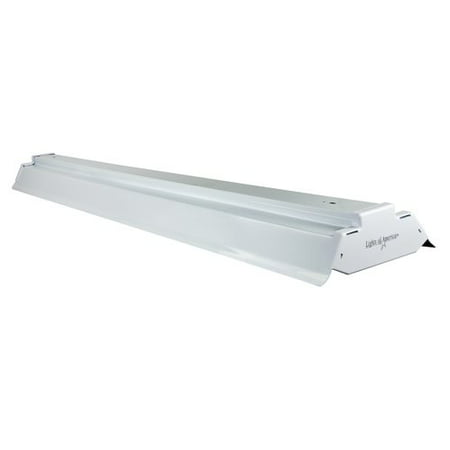 Lights Of America 4 Solid State Shop Light White