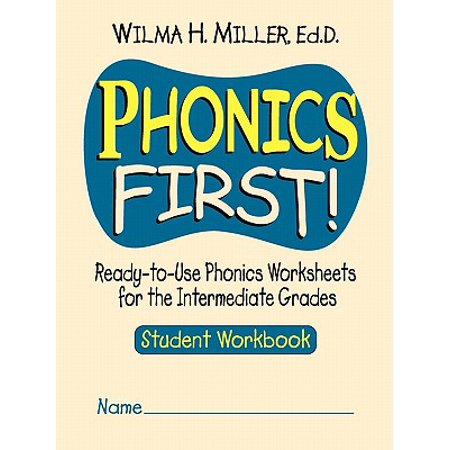 Phonics First! : Ready-To-Use Phonics Worksheets for the Intermediate Grades](Halloween Worksheets For Grade 5)