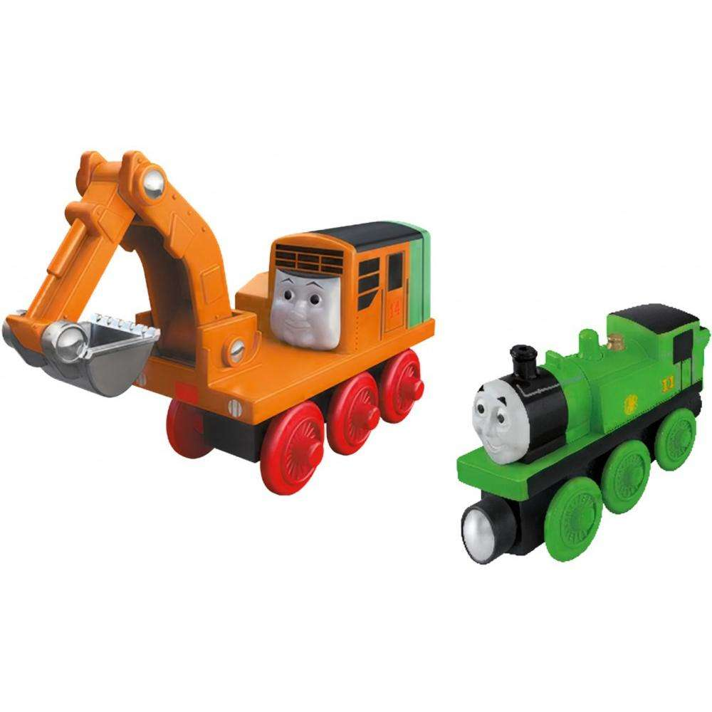 Thomas & Friends Wooden Railway Oliver & Oliver by Mattel