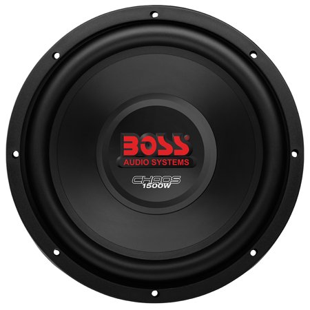 Boss Audio CH10DVC Chaos Series Dual-Voice Coil Subwoofer (10