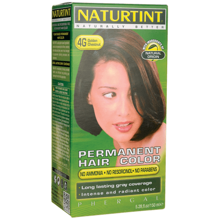 Naturtint Permanent Hair Color - 4G Golden Chestnut 1 Box