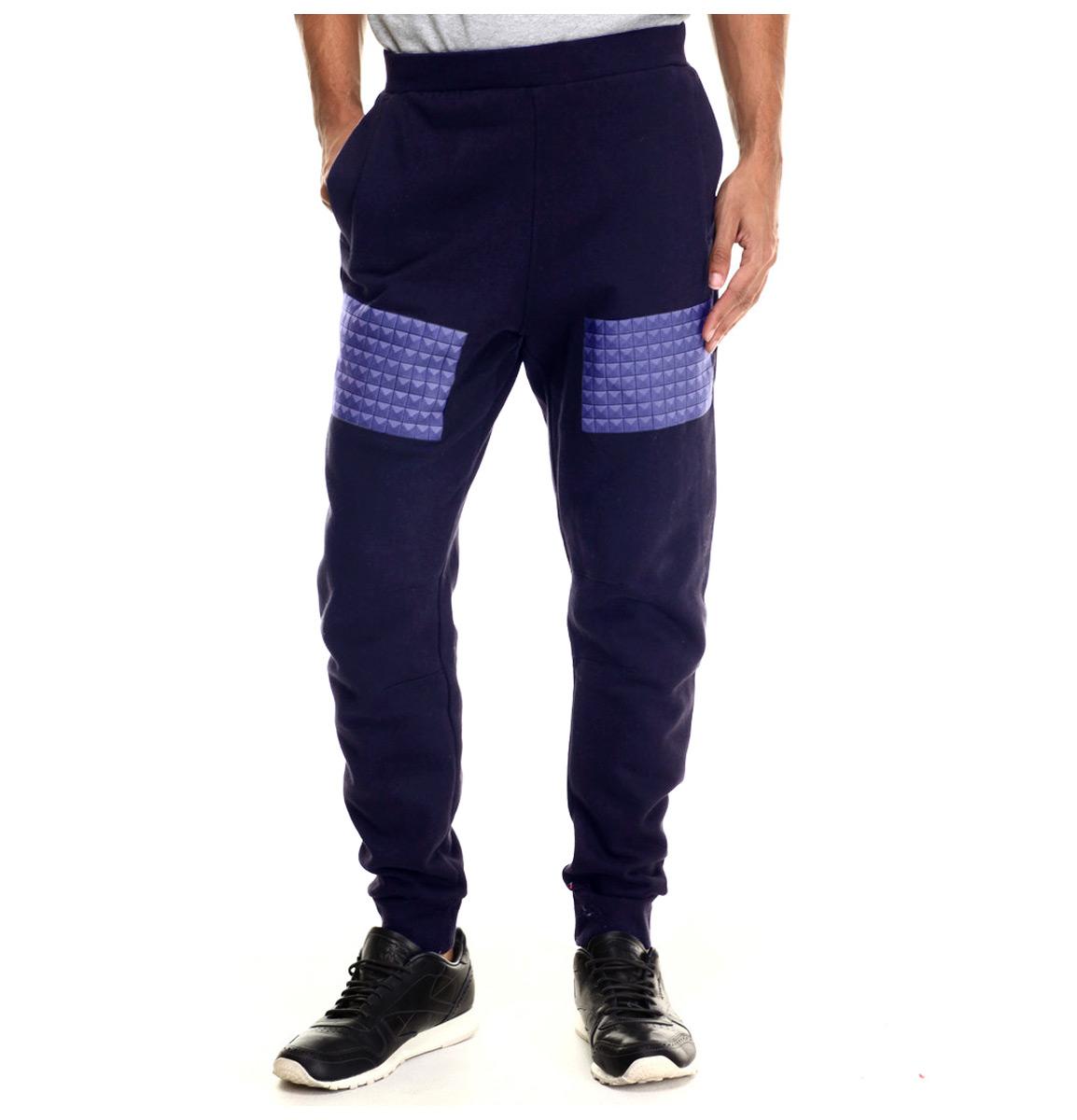Rocawear Blak Big & Tall Studs Fleece Jogger Sweatpants N...