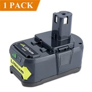 Biswaye Replacement P108 Battery High Capacity 18V 4.0Ah 72Wh Li-ion Battery with Recharge Indicator for Ryobi 18-Volt ONE+ P102 P103 P104 P105 P107 P108 P122 P109 Cordless Tools