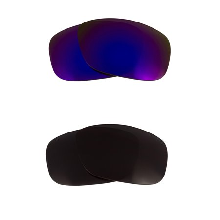 53864680fc Seek Optics - Garage Rock Replacement Lenses Black   Purple by SEEK fits  OAKLEY Sunglasses - Walmart.com