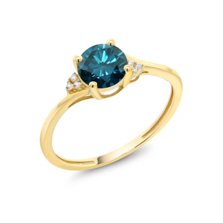 honor accents line img rings collections thin with accent valor engagement large ring wedding blue diamond