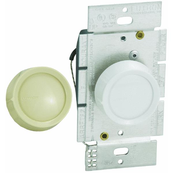 Lutron Single-Pole Rotary Dimmer Switch