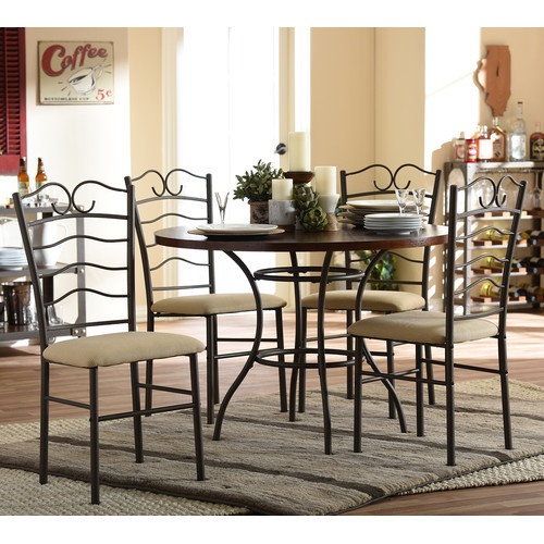 Wholesale Interiors Greggory 5 Piece Dining Set