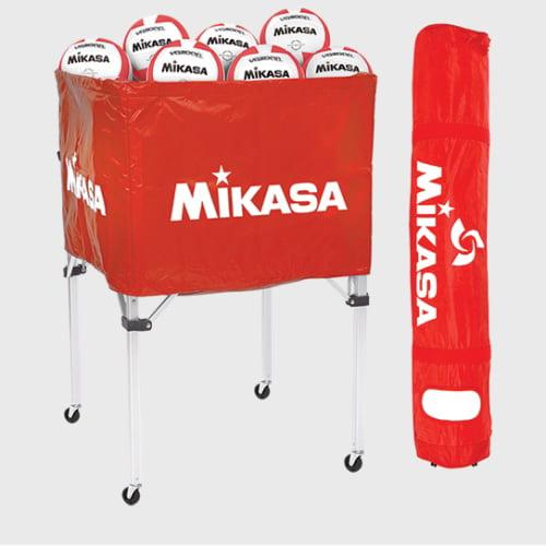 Mikasa BCSPSH-SCA Ball Cart, Scarlet