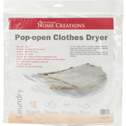 """Innovative Home Creations Collapsible Sweater Dryer-30""""X29.5"""" White"""