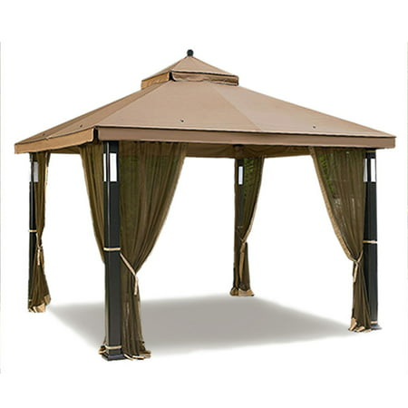 Enjoyable Garden Winds Replacement Canopy Top For The Lighted Gazebo Interior Design Ideas Oxytryabchikinfo