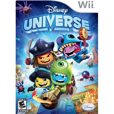 Disney Universe - Nintendo Wii, Suit-up for action as more than 40 classic and contemporary Disney characters including Alice, Mike, TRON and Stitch. By Disney Interactive Studios Ship from US - Characters From Thundercats