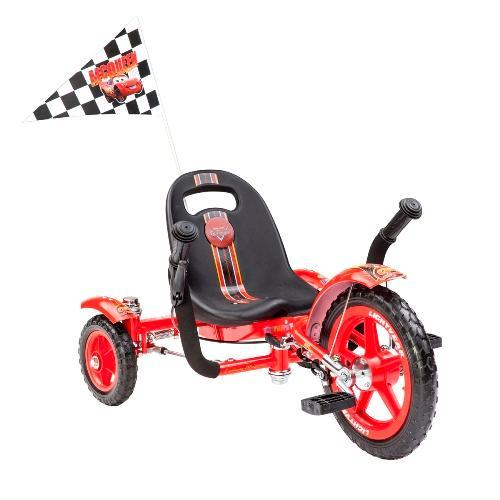 Mobo Tot Disney-Pixar Cars Special Three-Wheeled Cruiser, Red