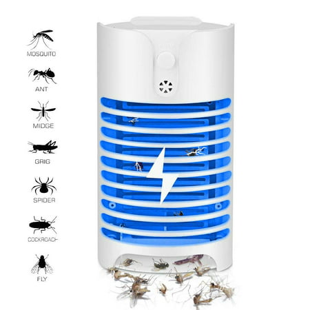 FeelGlad Indoor Plug-in Bug Zapper - Mosquito Trap with UV Light - Indoor Mosquito Killer - Electric Insect Repellent - Gnat Trap for Mosquitoes Fruit Flies and Flying (Best Cutter Fly Killers)