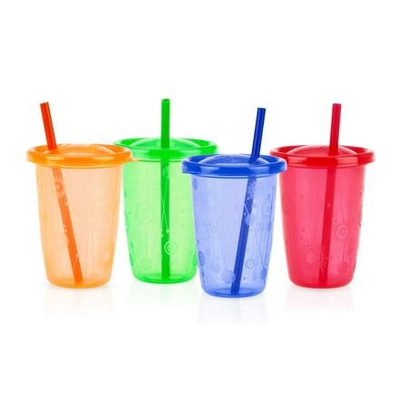 Nuby Wash (Nuby 4pk 10oz Wash Or Toss Cups With)