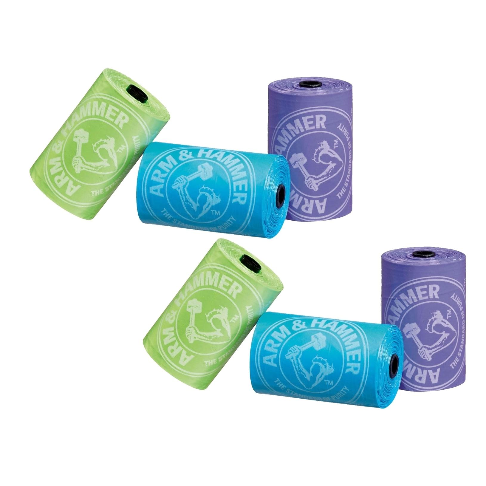 Munchkin  Arm & Hammer Diaper Bag Refills - 36 Bags (Pack of 2)