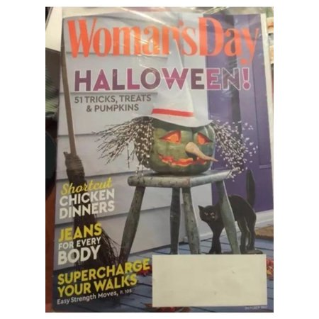 NEW October 2017 issue of Woman's Day Magazine Halloween