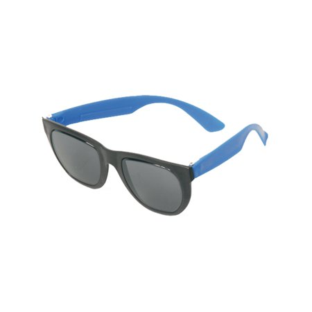 1 Pair Blue Tourist Novelty Rubber Sunglasses Party Favors 80s Costume - Tourist Party