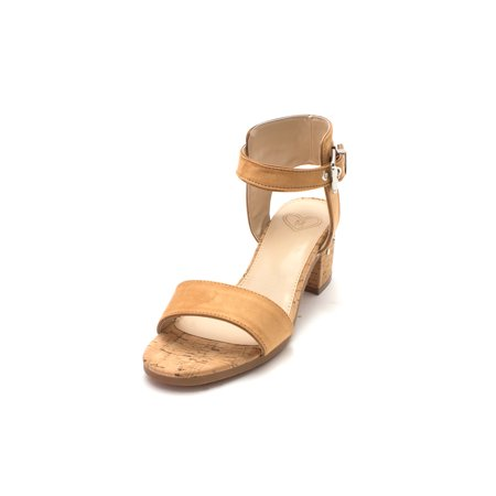 Madeline Womens Glow Open Toe Casual Ankle Strap Sandals