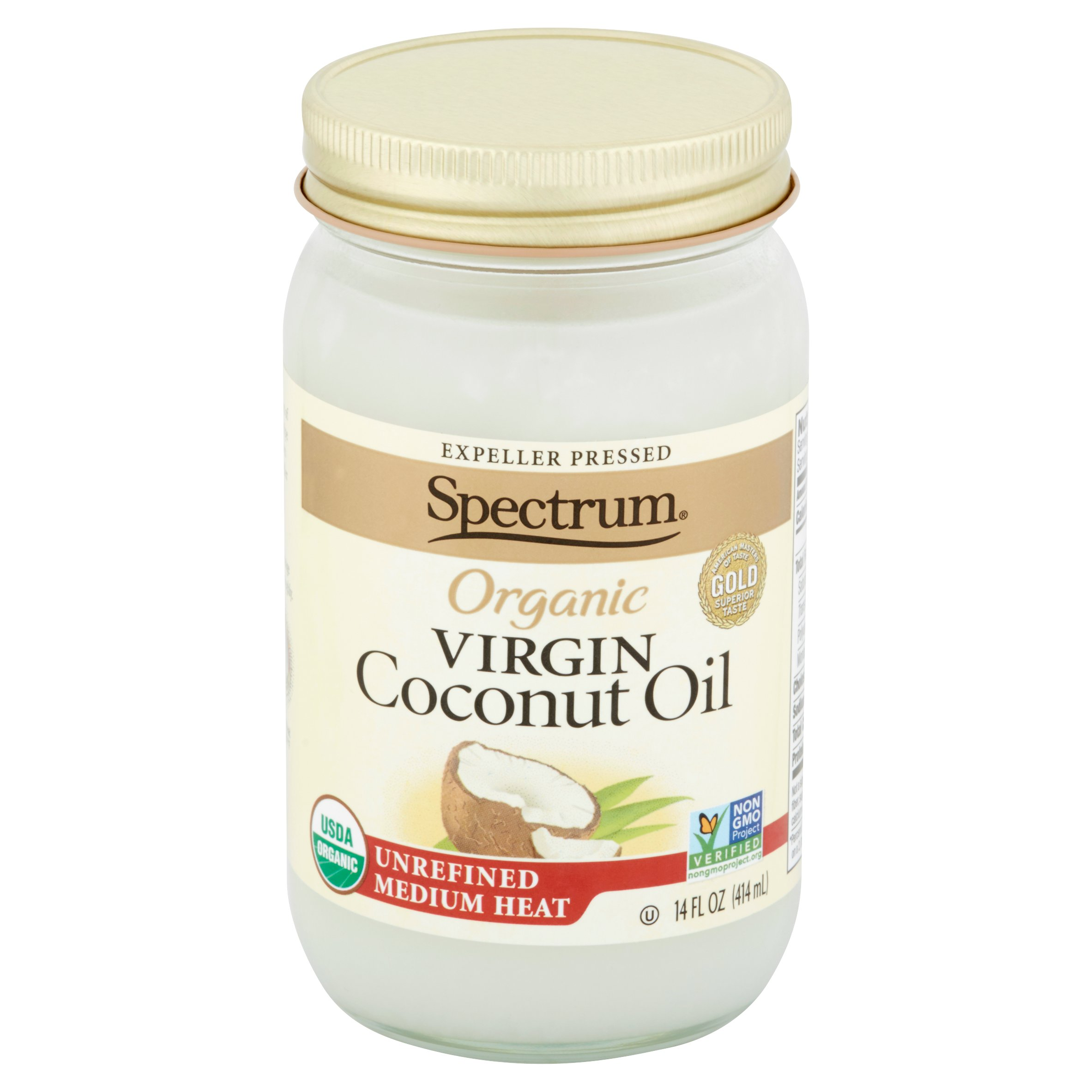 Spectrum Organic Virgin Coconut Oil, 14 fl oz