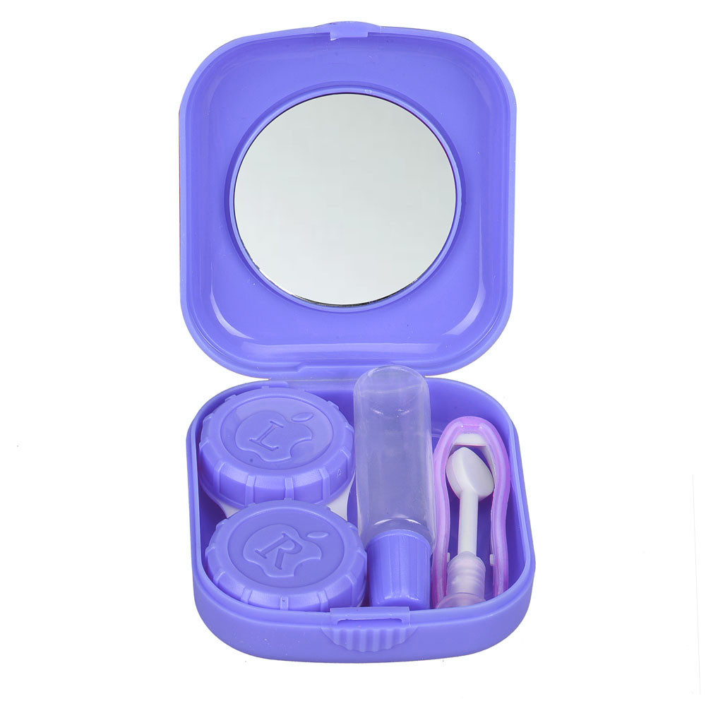 Mosunx New Cute Mini Contact Lens Easy Carry Case Travel Kit PP