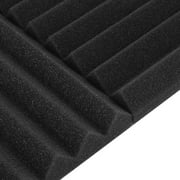24 Pack Acoustic Panels Studio Soundproofing Foam Wedges
