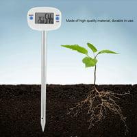Hilitand Digital Soil Hygrometer Moisture Meter Temperature Humidity Tester with Probe, Digital Hygrometer