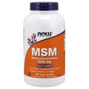 NOW Msm 1000 mg Capsules, 240 Ct