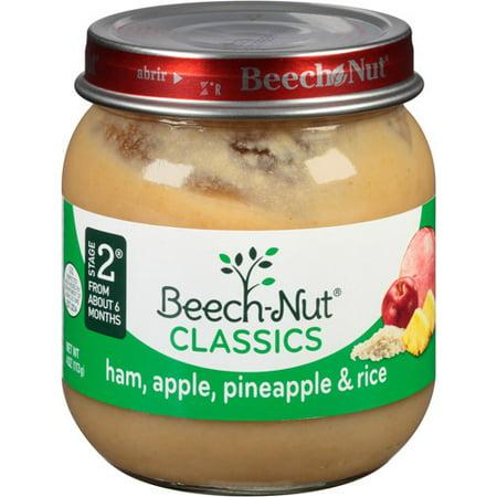 Ham Pineapple And Rice Baby Food