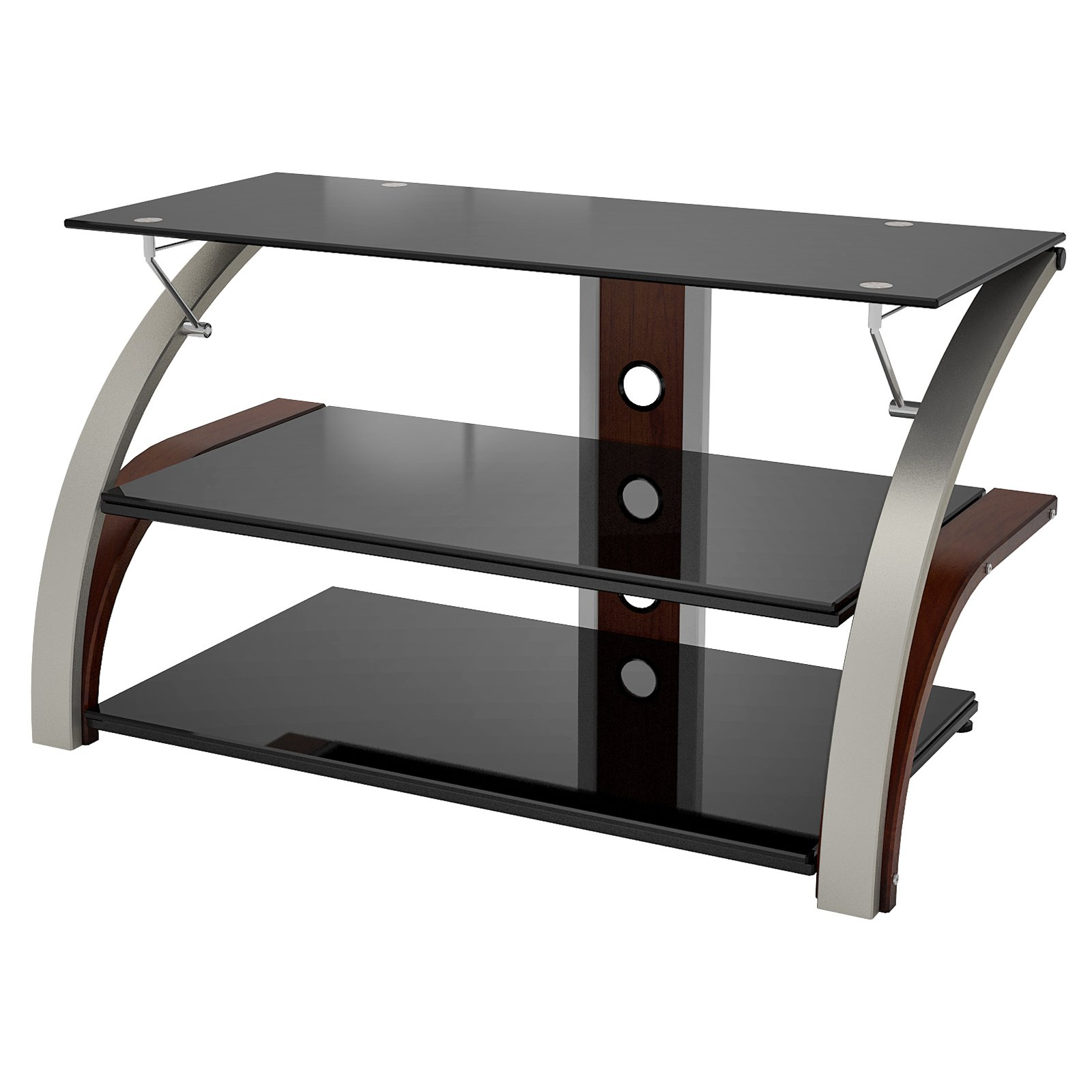 Z-Line Elecktra TV Stand with Optional Mounting Kit - Cherry