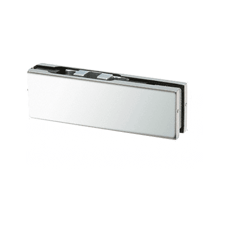 CRL PH20CPS Polished Stainless Adjustable North American Top Door Patch Fitting