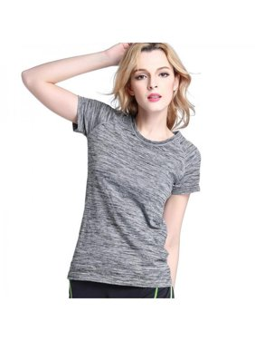 b7ad120d230 Product Image Ropalia Women Gym Sports Shirt Yoga Fitness Quick Dry Running  T-shirts