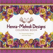 Lark Books-Henna-Mehndi Designs Coloring Book