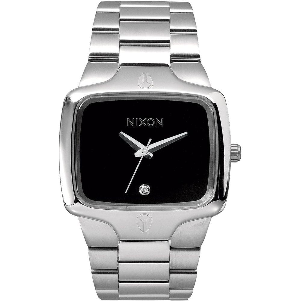 Nixon A140000 Men's Player Black Analog Display Quartz Wa...